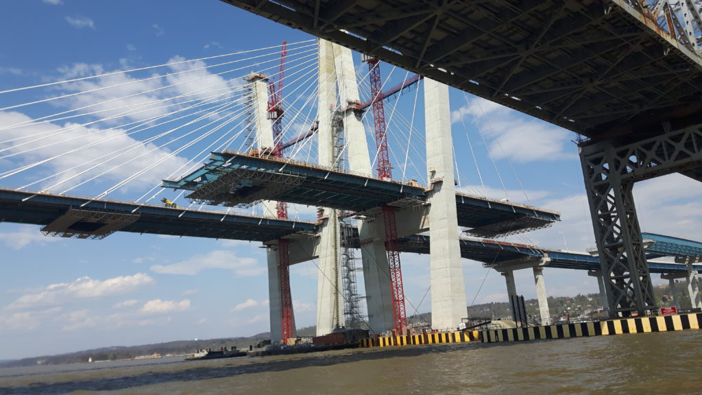 New Tppan Zee Bridges