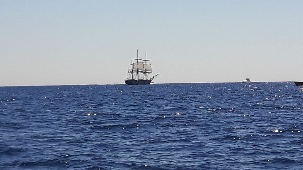 Tall-Ship-on ocean