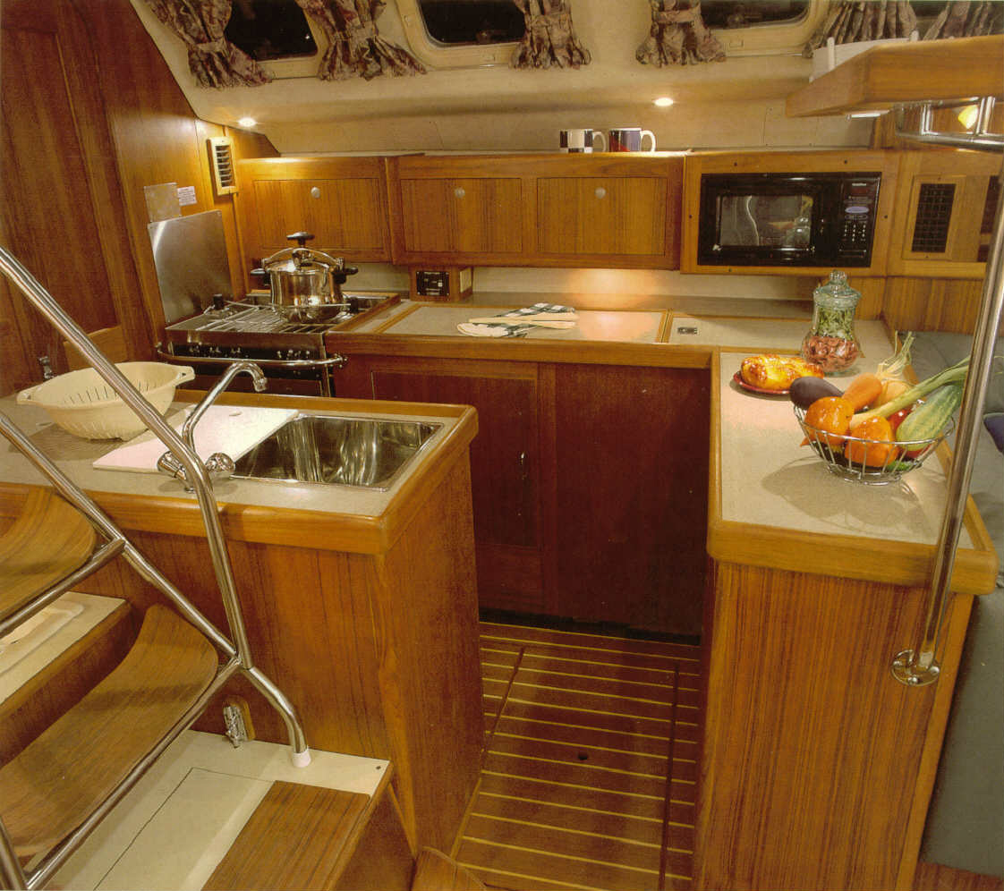 Hunter 460 Galley