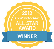 Constant Contact 2012 All Star Award