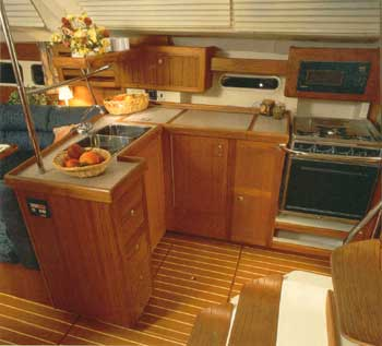 Hunter 410 Galley